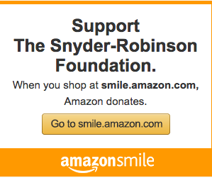 Amazon Smile Program Adds the Snyder-Robinson Foundation